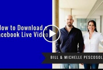 How to Uploaded a Facbook Live Video From Facbook
