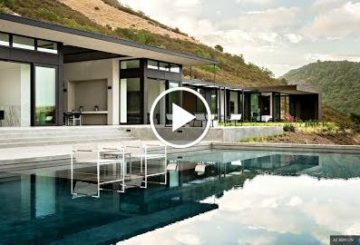 8,000 S.Q F.T Luxury Modern Contemporary 6 Bed 8 Bath Home in California USA