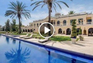 Stunning $65 Million 10 Bedroom 17 Bathroom Ocean and Mountain View Home in California USA