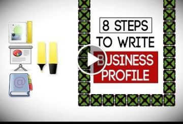 8 StEP to Write a Business Profile – Write Company PROFILE
