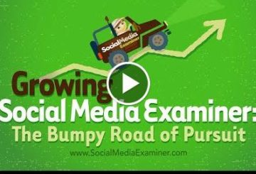 Growing Socially  Examiner: The Bumpy Road of Pursuit