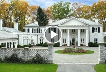 $8 Million 11,000 SQ FT 6 Bedroom 8 Bathroom Palladian Home on 8 Acres in Connecticut USA