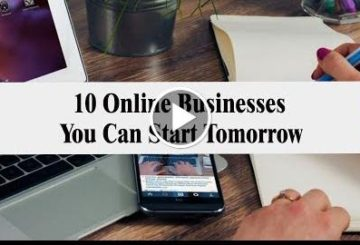 10 Online Businesses You Can Start Tomorrow