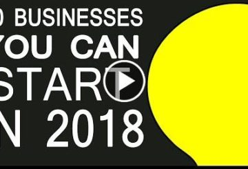 20 Businesses You Can Start in 2018