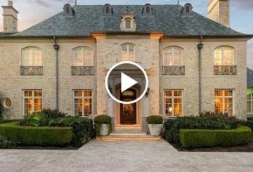 Majestic $7 Million 12,000 SQ FT 7 Bedroom 10 Bathroom French Home in Texas USA