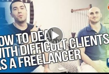 HOW TO DEAL WITH DIFFICULT CLIENTS AS A LANCER