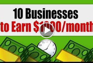 10 Businesses to  $1000 per Moonth