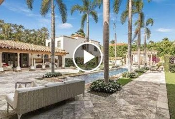 Breathtaking $12 Million 9,000 SQ FT Mediterranean Home in Palm Beach Florida USA