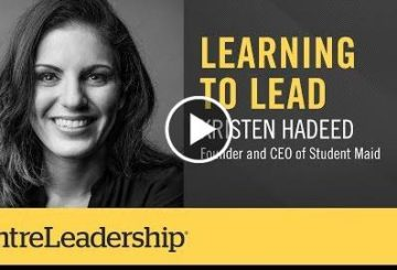 Learning To Lead | Kristen Hadeed | EntreLeadership