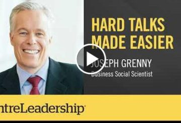 Hard Talks Made Easier | Yoseph Grenny