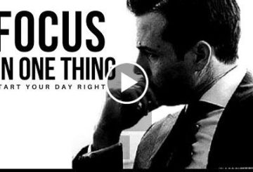 FOCUS ON ONE  | Start You Day  | BEST SPEECH EVER