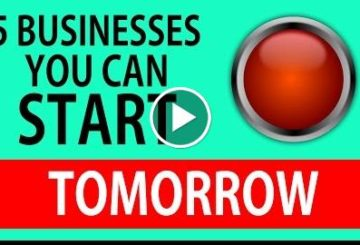 5 BUSINESSES You Can Start TOMORROW