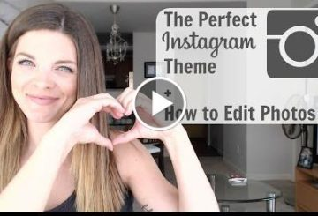 How to EDIT INSTAGRAMmer Photo + Perfect instagram Themes