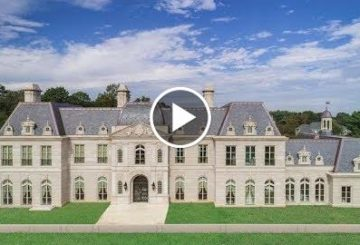 Opulent $60 Million 22,000 SQ FT 8 Bed 8 Bath Château in New York USA