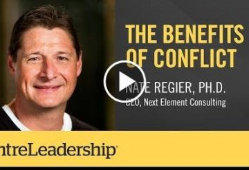 The Benefits Of Conflict  |  Regier
