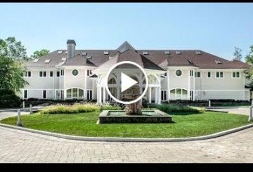 50 Cent's 50,000 SQ FT $18.5 Million 19 Bedroom 19 Bathroom Mansion in Connecticut USA
