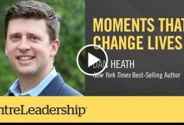 Moments That Change Lives | Dan Heath