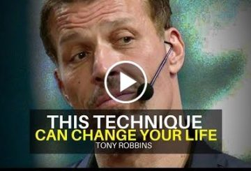 Tony :  Technique Can Changing Yous Life! (powerful Motivate video)