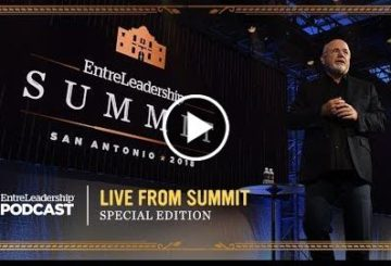 Dave Ramsey at The EntreLeadership 2018 Summit
