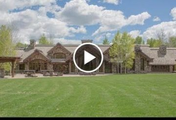Exquisite $25 Million 15,000 SQ FT 4 Bed 6 Bath Home on 12 Acres in Ketchum Idaho USA