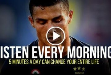Ronaldo: 5 Minutes to Starting Yous Day Rights   Morning Motivational