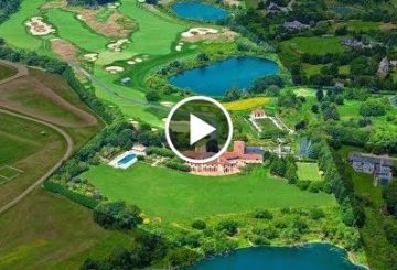 Magnificent $60 Million 60 Acre Estate  an 18 Hole Golf Course in New York USA
