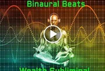 ALL IS ONE…Binotic Beats and Isochronic Tones Subliminal Wealth Meditation