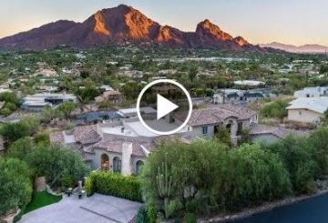 Breathtaking $23 Million 20,000 SQ FT 5 Bed 10 Bath Home on 1 Acre in Paradise Valley Arizona USA