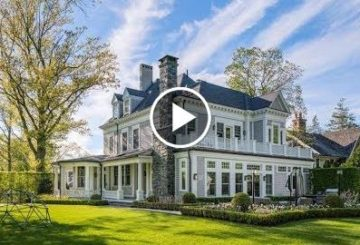 Historic $7 Million 6,000 SQ FT 7 Bed 6 Bath Home on 0.65 Acres in Riverside Connecticut USA
