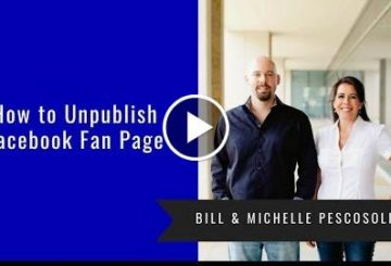 How to Unpublish FACEBOOK Fan PaGe