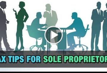 Tax  for Sole Proprietors